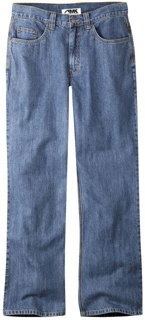 Mountain Khakis Men's Original Mountain Classic Fit Jeans, Indigo, hi-res