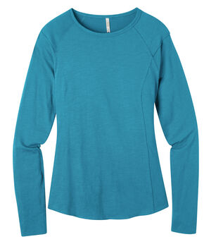 Mountain Khakis Women's Solitude Long Sleeve Shirt, Blue, hi-res