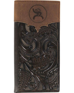 HOOey Men's Rodeo Tooled Wallet, , hi-res