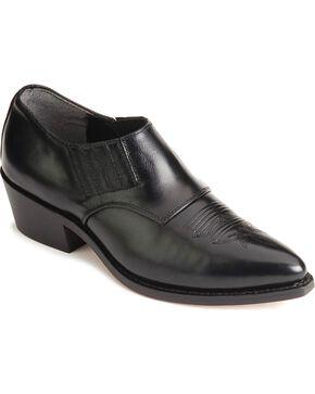 Laredo Western Shoe Boots, Black, hi-res