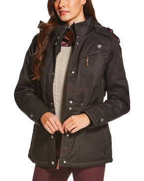 Ariat Women's Momento H2O Jacket, Black, hi-res