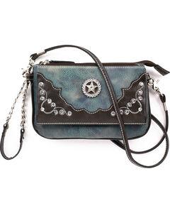 Blazin Roxx Women's Rhinestone Embellishments Star Wristlet , , hi-res