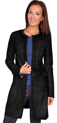 Scully Women's Laser Cut Leather Coat, , hi-res