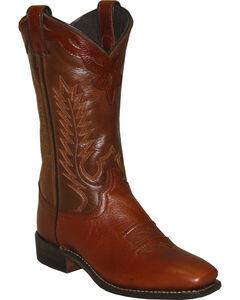Abilene Women's Western Cowgirl Boots - Square Toe, , hi-res