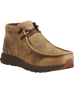 Ariat Men's Brown Spitfire Shoes, , hi-res