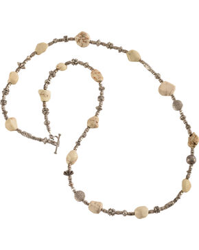 Julie Rose Natural Stone Beaded Necklace, Natural, hi-res