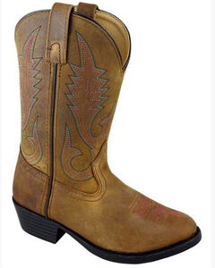Smoky Mountain Girls' Annie Western Boots - Round Toe, , hi-res