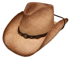 Charlie 1 Horse Hot Shot Straw Cowboy Hat, , hi-res