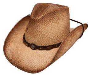Charlie 1 Horse Hot Shot Straw Cowboy Hat, Tea, hi-res