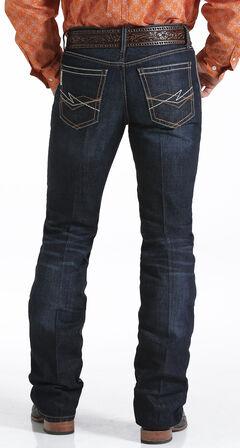 Cinch Men's Ian Dark Rinse Slim Fit Jeans - Boot Cut , , hi-res