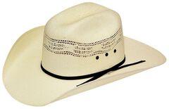 Twister Boys' Bangora Straw Cowboy Hat, , hi-res