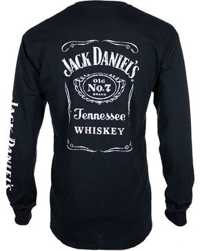 Jack Daniel's Old No.& Long Sleeve Shirt , Black, hi-res