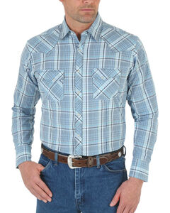 Wrangler 20X Men's Pick Stitched Long Sleeve Shirt - Tall, , hi-res