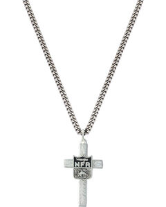 Montana Silversmiths 2015 WNFR Engraved Cross Necklace, , hi-res