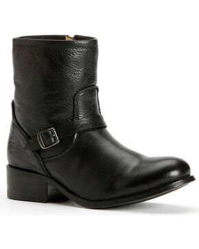 Frye Women's Lynn Strap Short Boots, Black, hi-res