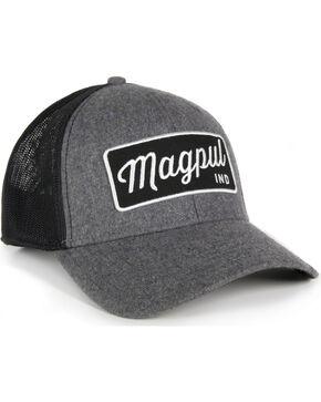 Magpul Men's Script Mid Crown Snapback Cap , Grey, hi-res