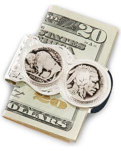 Montana Silversmiths Native American Nickel Money Clip, , hi-res