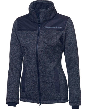 Mountain Horse Women's Welsh Fleece Jackets , Black, hi-res