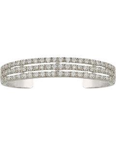 Montana Silversmiths Women's Triple the Delight Cuff Bracelet, , hi-res