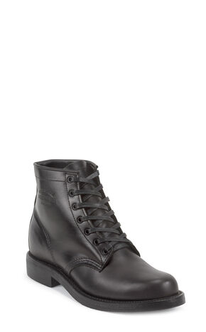 Chippewa Men's General Utility Trooper Service Boots, Black, hi-res