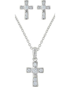 Montana Silversmiths Mark of Faith Jewelry Set, , hi-res
