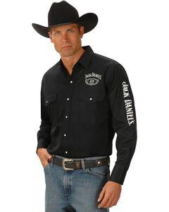 Jack Daniel's Logo Rodeo Cowboy Shirt, , hi-res