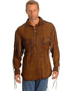 Kobler Cheval Leather Shirt, , hi-res