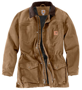 Carhartt Men's Canyon Ranch Coat, Brown, hi-res