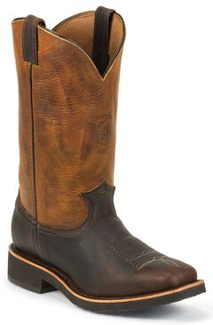 Chippewa Crazy Horse Pitstop Work Boots - Square Toe, , hi-res