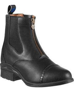 Ariat Devon Pro VX Black Boots, , hi-res