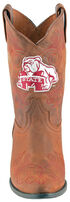Gameday Boots Girls' Mississippi State University Western Boots - Medium Toe, Honey, hi-res