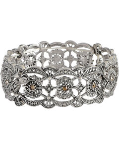 Shyanne Women's Scalloped Bracelet , , hi-res