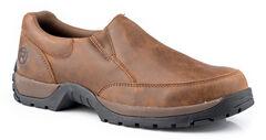 Roper Men's Canter Rider Button Slip-On Shoes, , hi-res