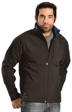 Red Ranch Men's Brown Softshell Western Jacket, , hi-res