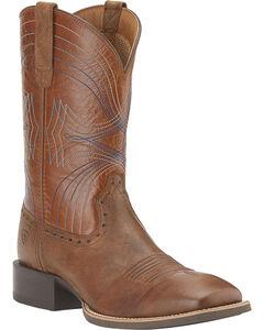 Ariat Sport Cowboy Boots - Wide Square Toe, , hi-res