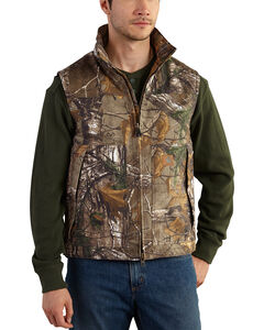 Carhartt Men's Realtree Xtra Camo Quick Duck Vest - Big & Tall , , hi-res