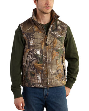 Carhartt Men's Realtree Xtra Camo Quick Duck Vest - Big & Tall , Camouflage, hi-res