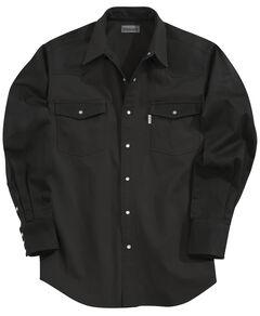Carhartt Ironwood Twill Work Shirt, Black, hi-res
