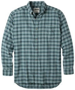 Mountain Khakis Men's Scout Downtown Flannel Shirt , Green, hi-res