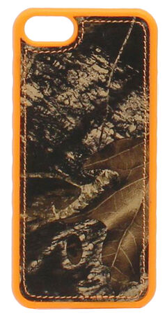 Nocona Mossy Oak Camo and Hunter Orange iPhone 5 and 5S Phone Cover, , hi-res