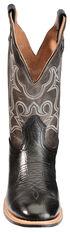 Boulet Grey Roper Cowboy Boots - Round Toe, Black, hi-res