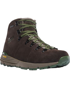Danner Men's Dark Brown/Green Mountain 600 Hiking Boots, , hi-res