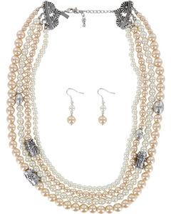 Shyanne Women's Pearl Jewelry Set , , hi-res