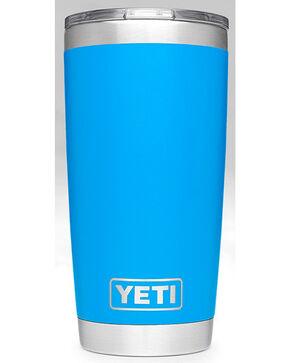 Yeti Tahoe Blue 20oz Sliding Lid Rambler , Blue, hi-res