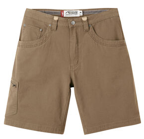"Mountain Khakis Men's Classic Fit Camber 107 Shorts - 11"" Inseam, Brown, hi-res"