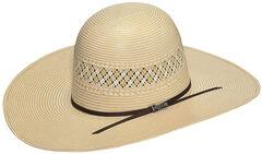 Twister Men's 10X Shantung Straw Cowboy Hat, , hi-res