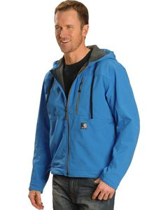 Carhartt Water Resistant Soft Shell Hooded Jacket, , hi-res