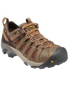 Keen Men's Flint Low Shoes - Steel Toe, , hi-res