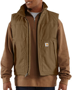 Carhartt Quick Duck Jefferson Vest - Big & Tall, , hi-res