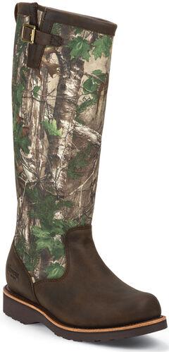 Chippewa Men's Tan Apache Snake Boots - Round Toe, , hi-res
